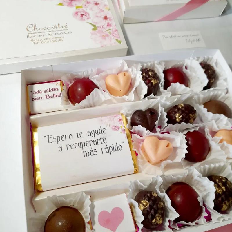 Tableta de chocolate oscuro 40% cacao