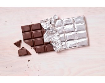 Tabletas de chocolates con leche 50%